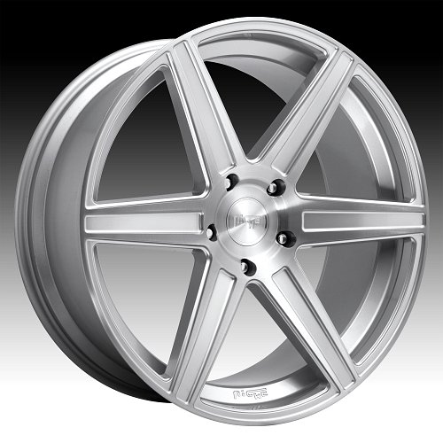 Niche Carina SUV M235 Brushed Silver Custom Wheels Rims 1