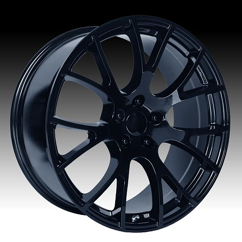 OE Creations 161GB Gloss Black Custom Wheel 1