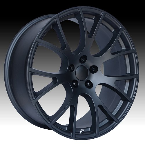 OE Creations 161MB Matte Black Custom Wheel 1