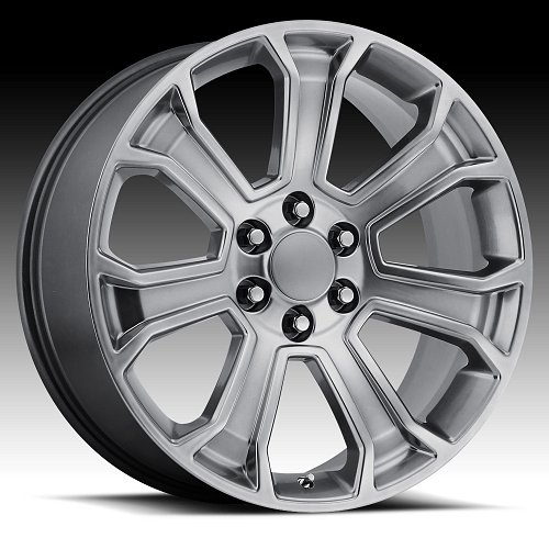 OE Creations 166H Dark Hypersilver Custom Wheel 1