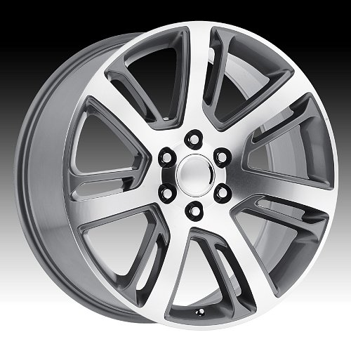 OE Creations 171GM Machined Gunmetal Custom Wheel 1