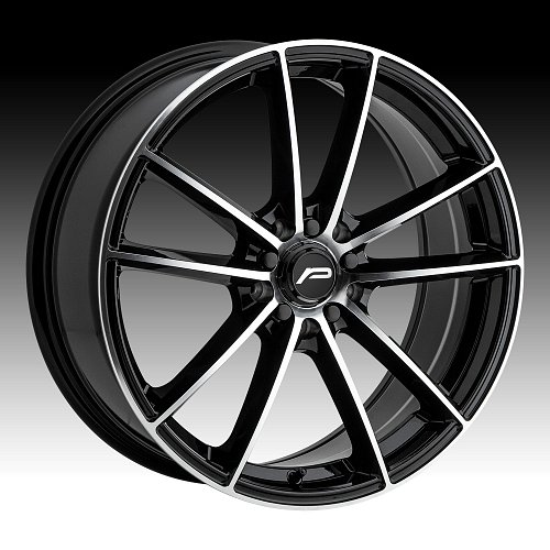 Pacer 792MB Infinity Machined Black Custom Wheels Rims 1