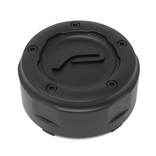 CAP-8LP-M17P / Pacer Satin Black Snap-In Center Cap 1