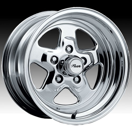 Pacer 521P 521 Dragstar Polished Custom Rims Wheels 1