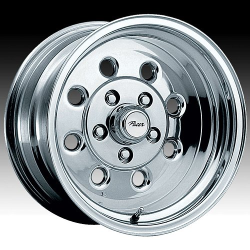 Pacer 531P 531 Stroker Polished Custom Rims Wheels 1