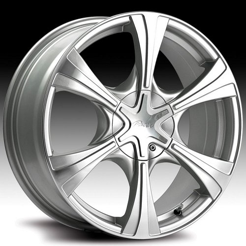 Pacer 775MS 775 Hallmark Silver and Machined Custom Rims Wheels 1