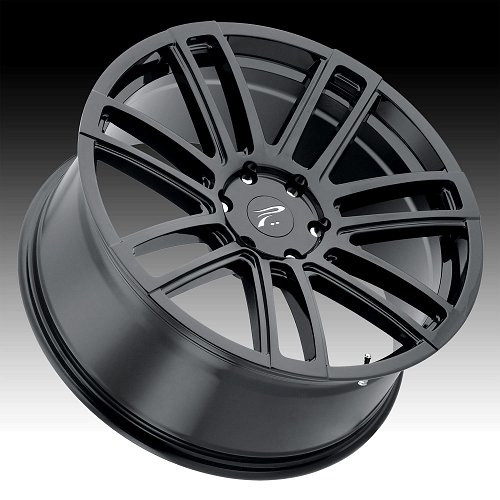 Platinum 441 Ghost Gloss Black Custom Wheels Rims 2