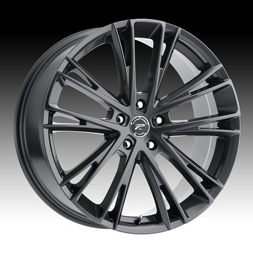 Platinum 458GN Prophecy Gloss Gunmetal Custom Wheels Rims 1
