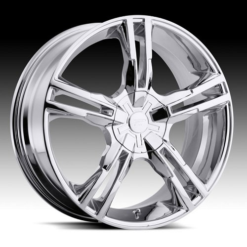 Platinum 291C 291 / 292C 292 Saber Chrome Custom Rims Wheels 1