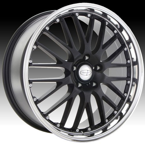 Privat Netz Gloss Black Custom Wheels Rims 1