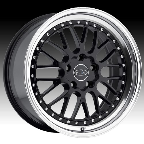 Privat Werks Matte Black Custom Wheels Rims 1