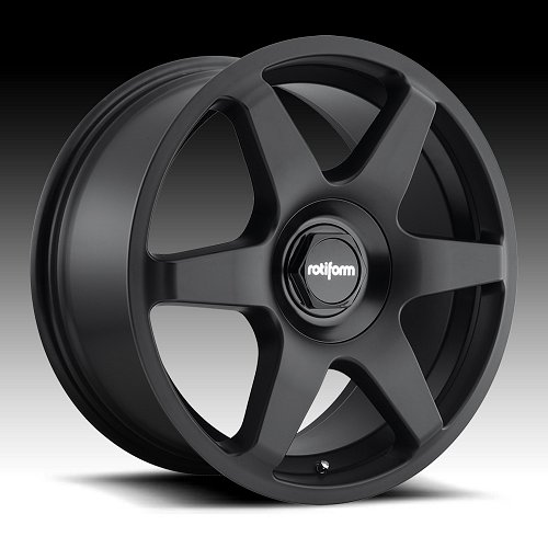 Rotiform SIX R113 Matte Black Custom Wheels Rims 1