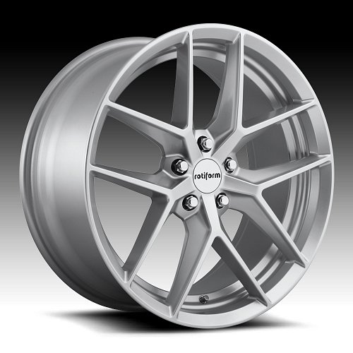 Rotiform FLG R133 Gloss Silver Custom Wheels Rims 1
