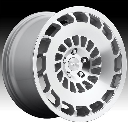 Rotiform CCV R135 Machined Silver Custom Wheels Rims 1