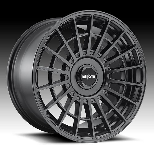 Rotiform LAS-R R142 Matte Black Custom Wheels Rims 1
