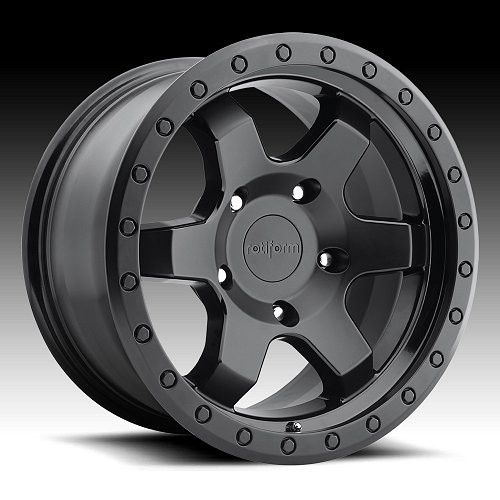 Rotiform SIX-OR R151 2-Tone Black Custom Wheels Rims 1
