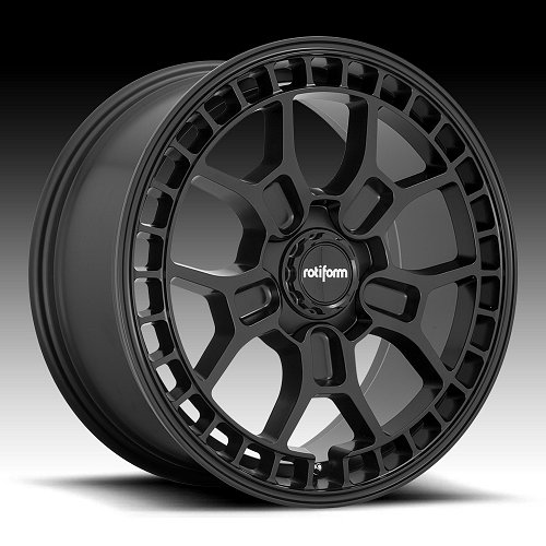 Rotiform ZMO-M R180 Matte Black Custom Wheels Rims 1