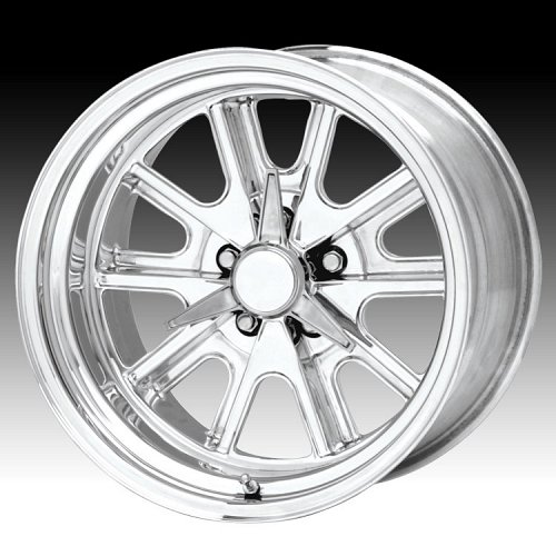 American Racing Shelby® Cobra® VN427 Polished Custom Rims Wheels 1