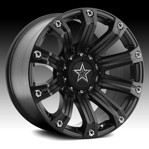 TIS 534B Satin Black Custom Rims Wheels 2