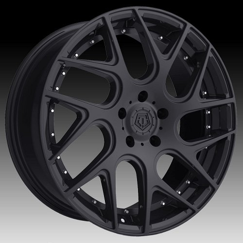 TIS 542B Gloss Black Custom Wheels Rims 1