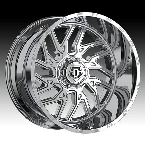 TIS 544V Chrome PVD Custom Wheels Rims 1