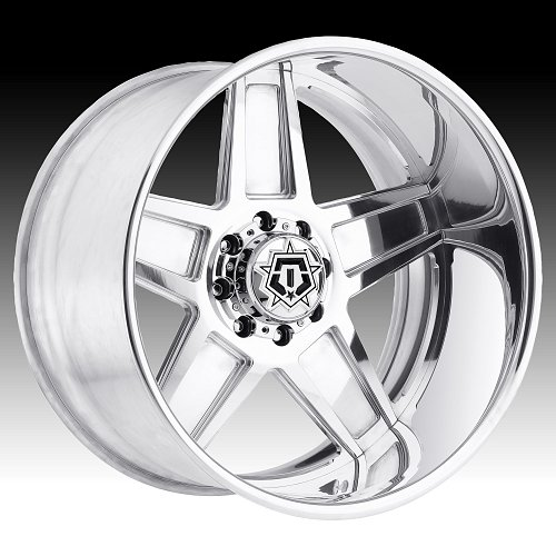 TIS Forged F50P Polished Custom Wheels Rims 1