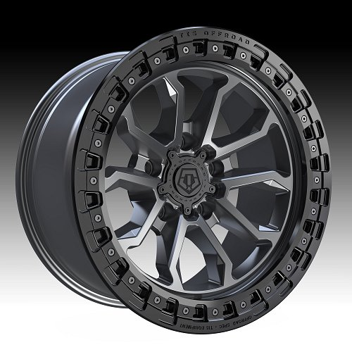 TIS Wheels 556AB (5-Lug) Satin Anthracite Custom Truck Wheels 1