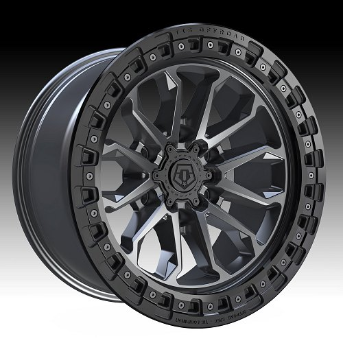 TIS Wheels 556AB (6-Lug) Satin Anthracite Custom Truck Wheels 1