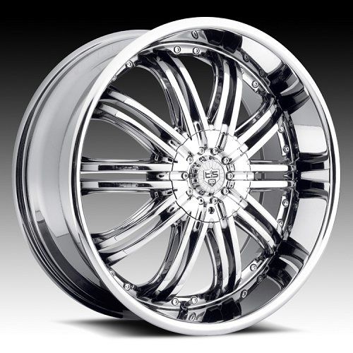 TIS 532C Chrome Custom Rims Wheels 1
