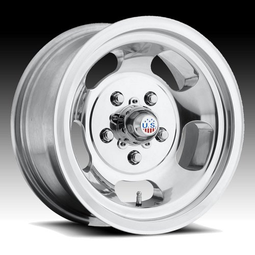 US Mags Indy U101 Polished Custom Wheels Rims 1