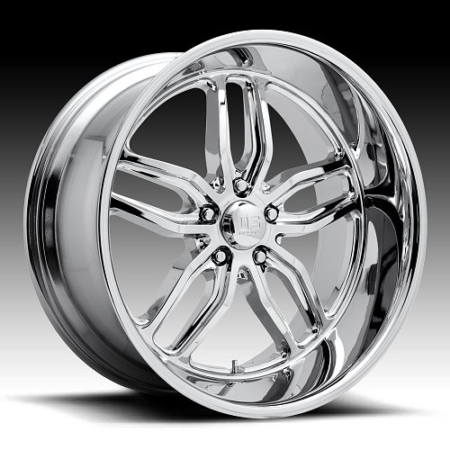 US Mags C-TEN U127 Chrome Custom Wheels Rims 1