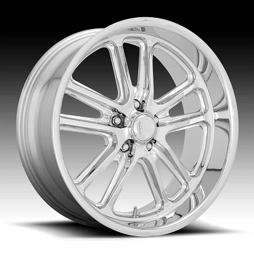 US Mags Bullet U131 Chrome Custom Wheels Rims 1