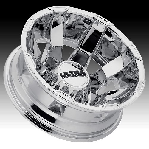 Ultra 025 Phantom Dually Chrome Custom Wheels Rims 2