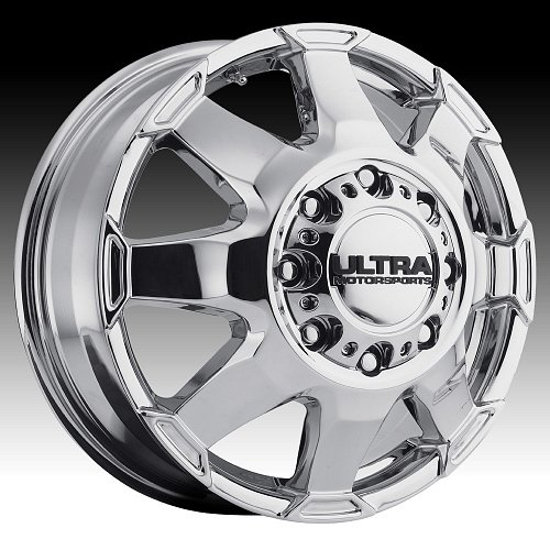 Ultra 025 Phantom Dually Chrome Custom Wheels Rims 1