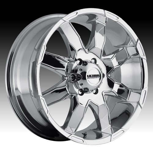 Ultra 225 Phantom Chrome Custom Wheels Rims 1