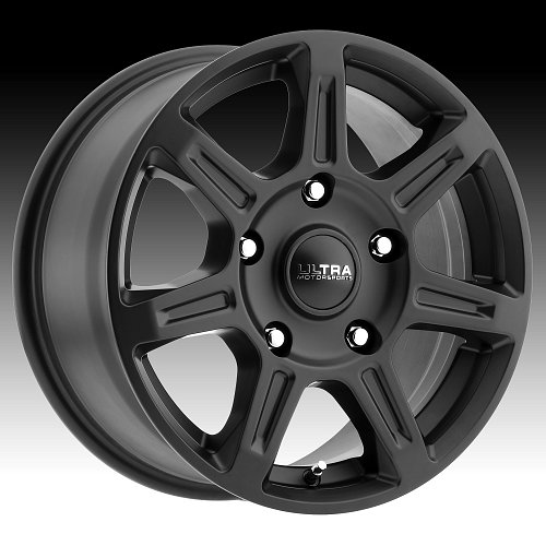 Ultra 450 Toil Van Satin Black Custom Wheels Rims 1