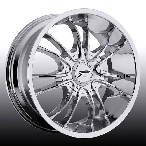 Platinum 406C 406 America Chrome Custom Rims Wheels 1