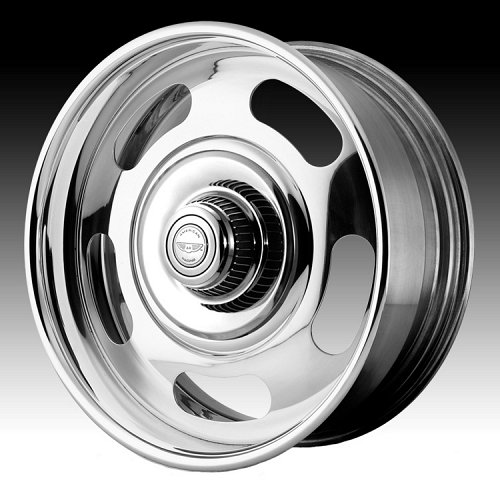 American Racing VN327 327 Rally Polished Custom Rims Wheels 1