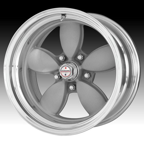 American Racing Classic 200S VN402 402 2-PC Silver Polished Custom Rims Wheels 1