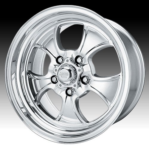 American Racing VN450 450 Hopster 2-PC Polished Custom Rims Wheels 1