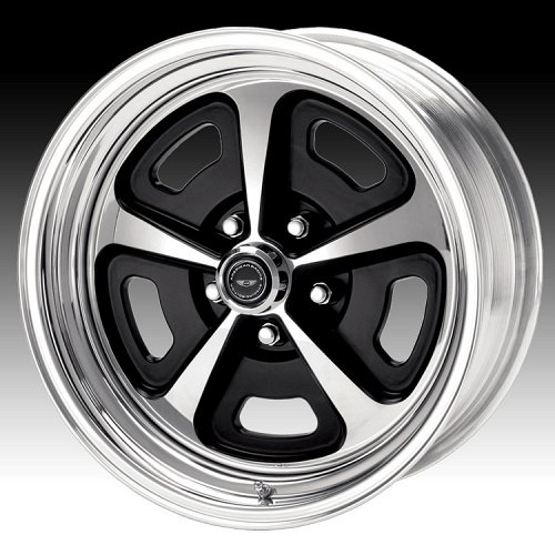 American Racing VN500 2-PC Polished Painted Custom Rims Wheels 1