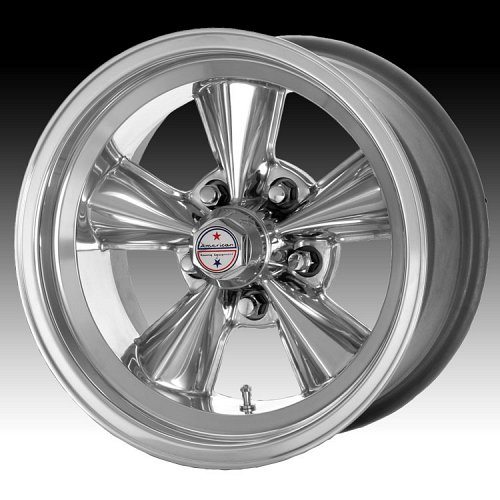 American Racing VNT71R 71R Polished Custom Rims Wheels 1