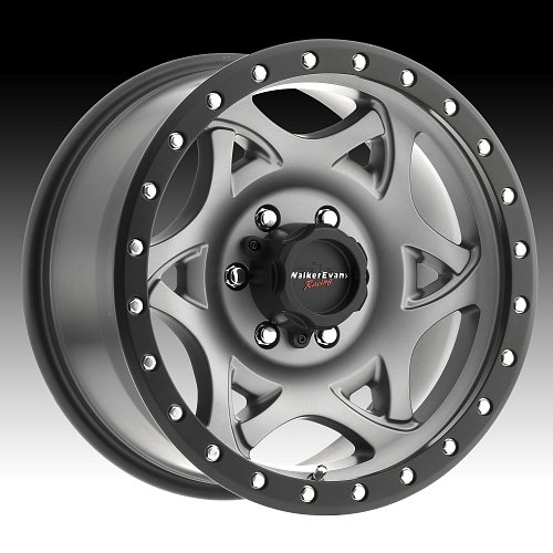 Walker Evans 501 Legend Satin Graphite Custom Wheels Rims 1