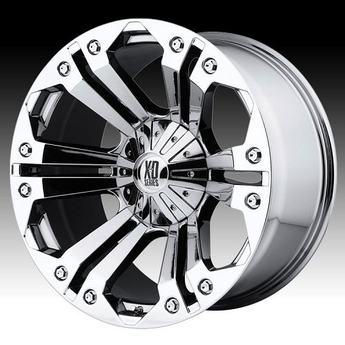 KMC XD Series XD778 Monster Chrome Custom Wheels Rims 1