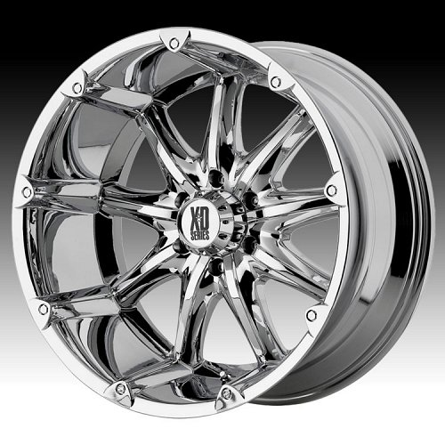 KMC XD Series XD779 Badlands Chrome Custom Wheels Rims 1