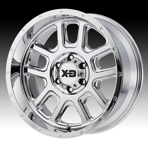 KMC XD Series XD828 Delta Chrome Custom Wheels Rims 1